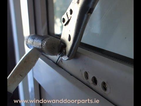How to open a broken uPVC window lock