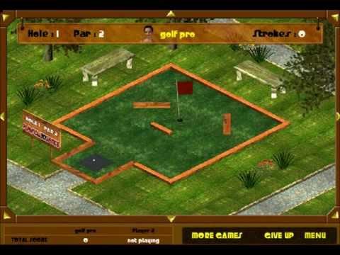 Putt It In Garden Park - A Realistic Mini Golf Game