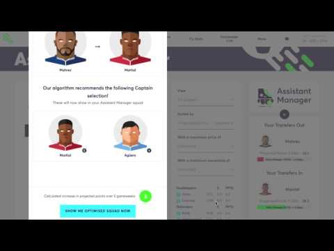 Gameweek 2 | Algorithm Squad Picks | Fantasy Football Fix