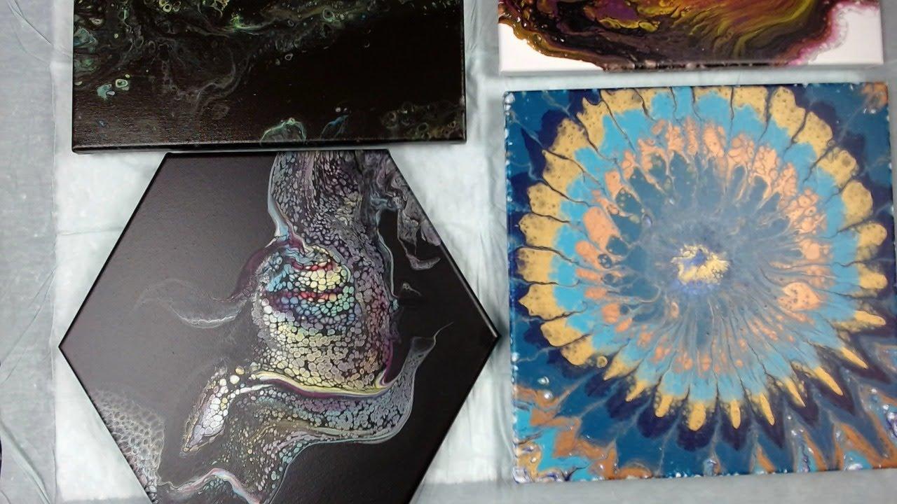 Monday Night LIVE!  Acrylic Fluid Pouring Art, Q&A
