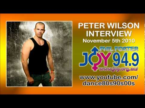 PETER WILSON INTERVIEW (Nov 5th 2010) JOY 94.9 - Australian's Gay and Lesbian Radio Station