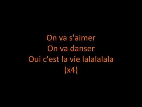 Cheb KhaledC'est La VieLyrics on Screen HD