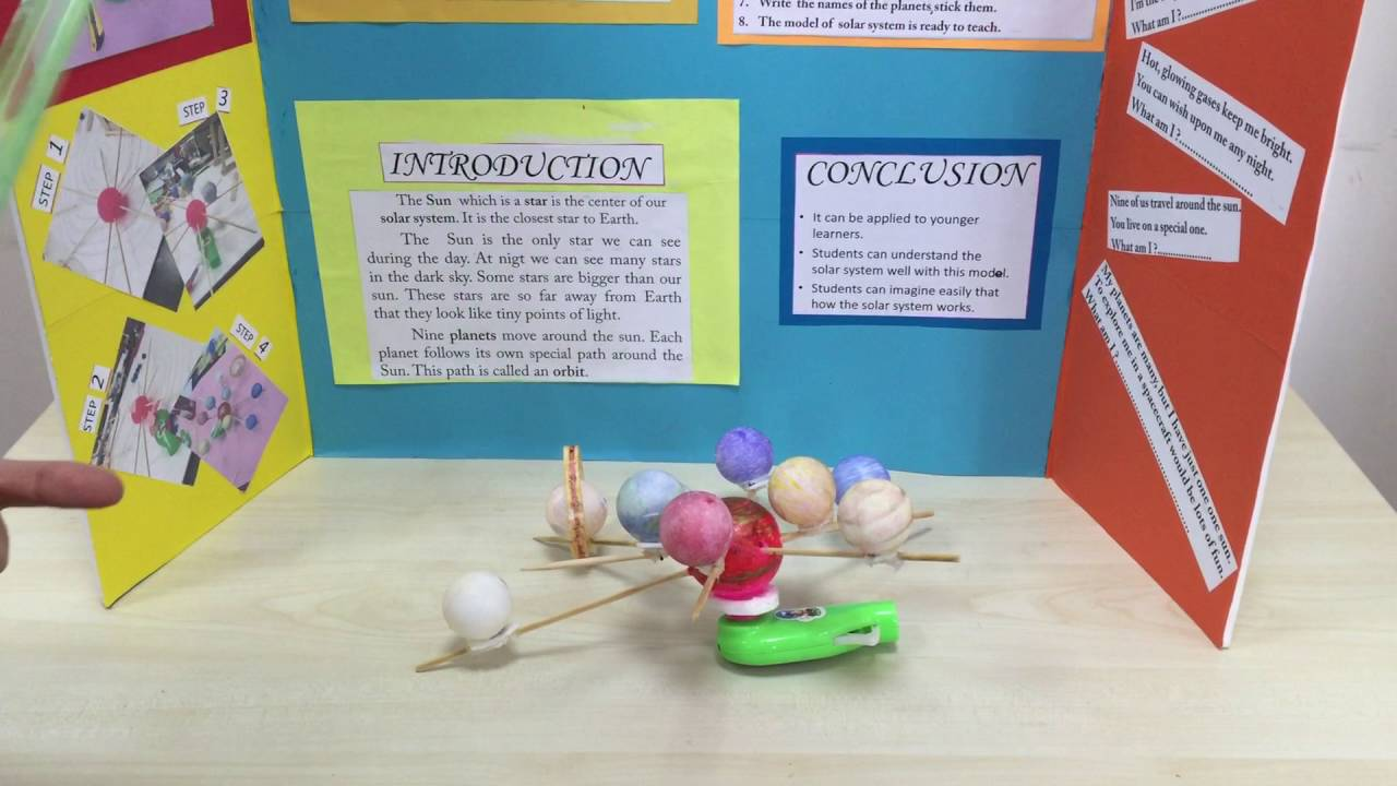 primary stem science project