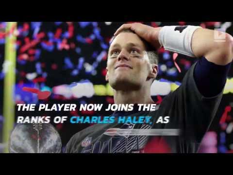Tom Brady wins fourth Super Bowl MVP award