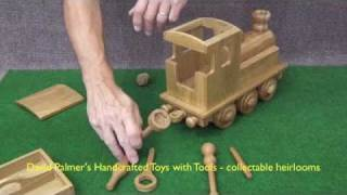 Steam Engine Demo - David Palmer's Handcrafted Toys