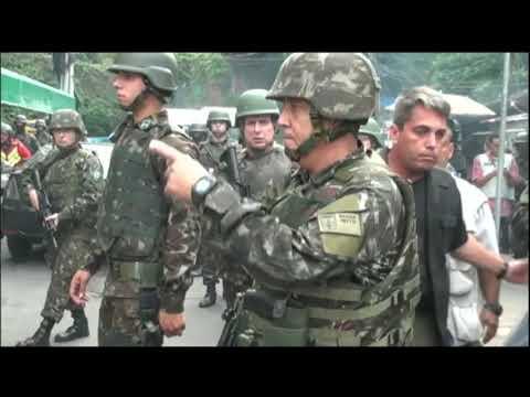 Forças Armadas fazem ação em quatro comunidades e prendem 16 no Rio de Janeiro
