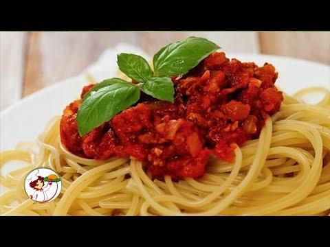 Находка для занятых хозяек - соус с фаршем для спагетти.