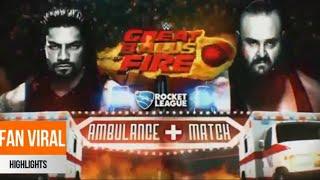 Brownstown vs Roman Reigns  WWE  AMBULANCE MATCH  WRESTLE EMPIRE