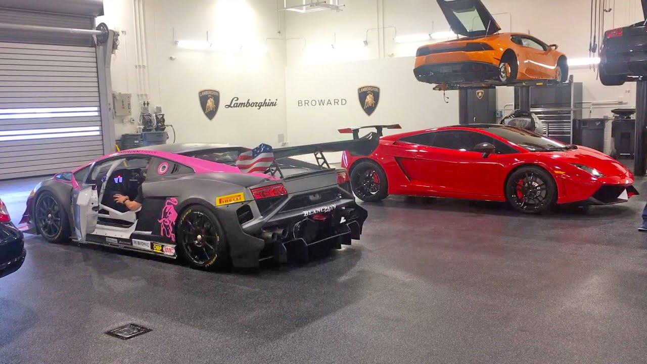 Lamborghini gallardo super trofeo race car