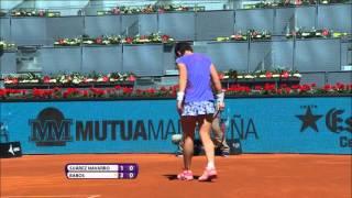 2016 Mutua Madrid Open Hot Shot   Carla Suarez Navarro
