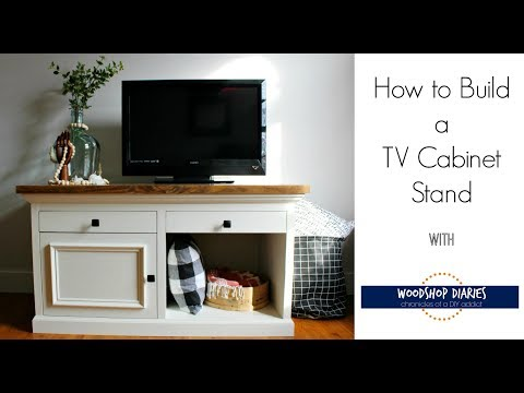 How to Build a DIY TV Stand Video