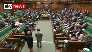 First day of Commons debate before the meaningful vote on May's Brexit deal