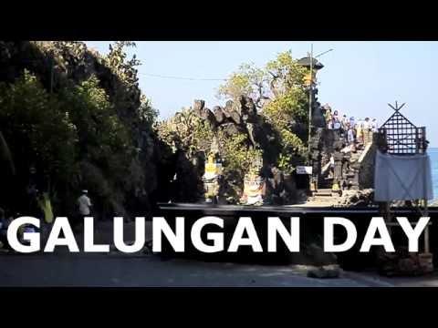 GALUNGAN DAY !   PURA BATU BOLONG