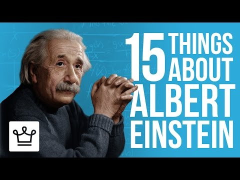 15 Things You Didn't Know About Albert Einstein
