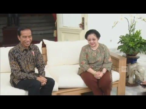 Full - Megawati Temui Presiden Jokowi Di Istana