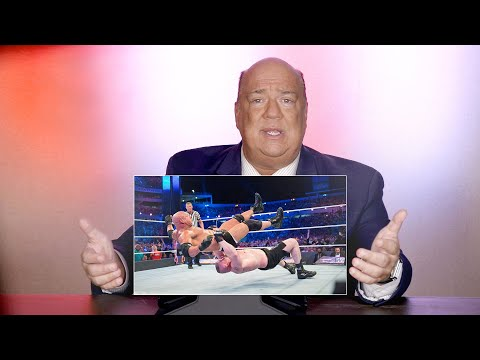 Paul Heyman rewatches Brock vs. Goldberg from WrestleMania 33: WWE Playback