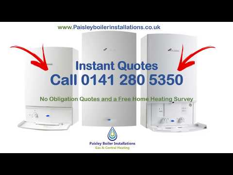 Central Heating Installation & New Boilers in Paisley