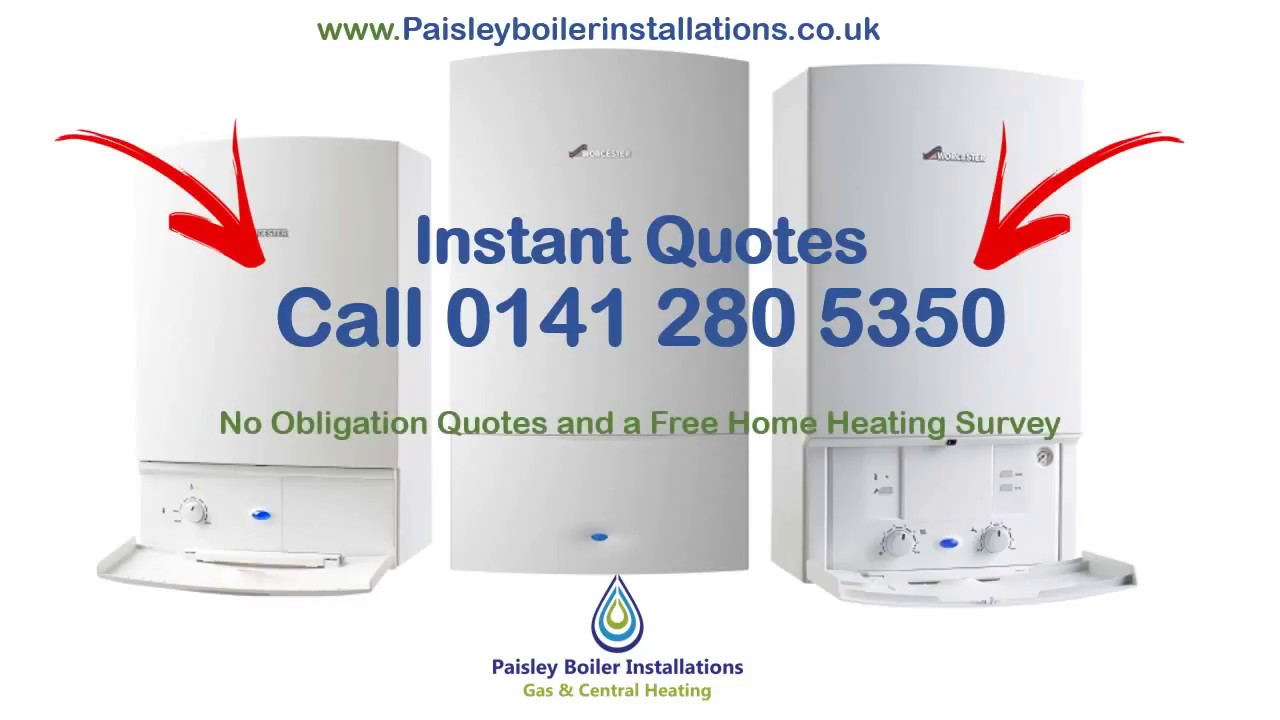 Central Heating Installation & New Boilers in Paisley - YouTube