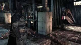 Batman Arkham Asylum demo PC gameplay