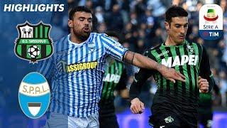 Sassuolo 1-1 SPAL | Petagna Scores Again As Game Ends In Draw | Serie A