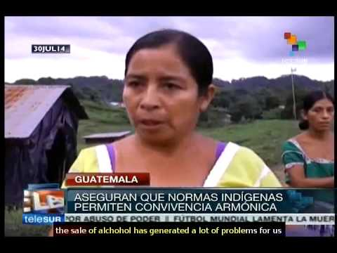 Guatemala: indigenous consider official justice system non functioning