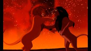 Simba Vs Scar-Lion King Fight Scene HD