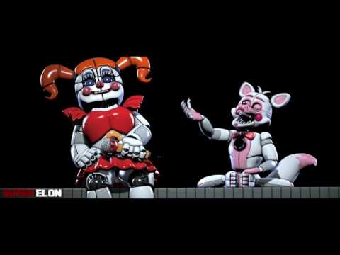 FNAF SFM 'At Sister Location' by Chi chiFNaF SL Animation Song by Super Elon
