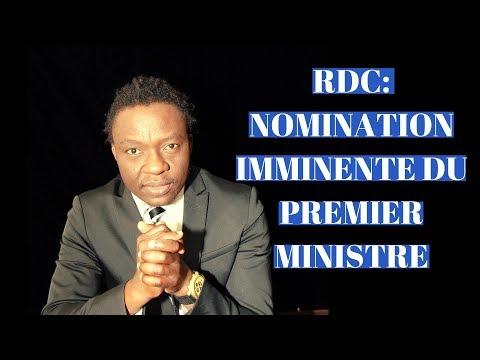 RDC: PREMIER MINISTRE: NOMINATION IMMINENTE APRES L'ASSEMBLEE NATIONALE