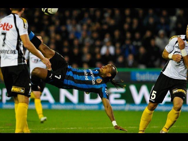 2012-2013 - Club Brugge - Sporting Lokeren - GOAL Mémé Tchité
