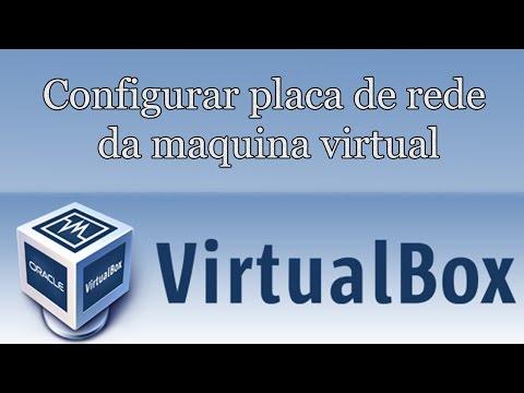 Como configurar internet da maquina virtual - VirtualBox