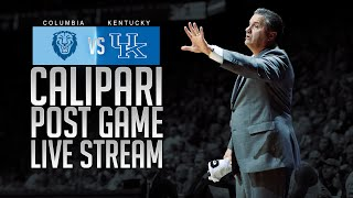 Kentucky Wildcats TV: Columbia Postgame Press Conference