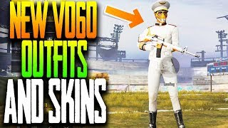 CALL ME CAPTAIN! NEW OUTFITS and WEAPON FINISHES! FPP GRIND PUBG Mobile
