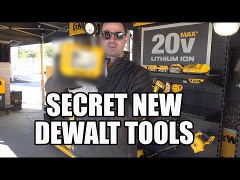 NEW DeWALT Tools - World Of Concrete 2020