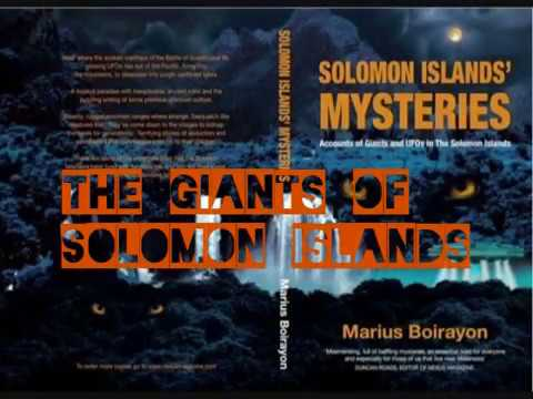The Living Giants of Solomon Islands by Marius Boirayon