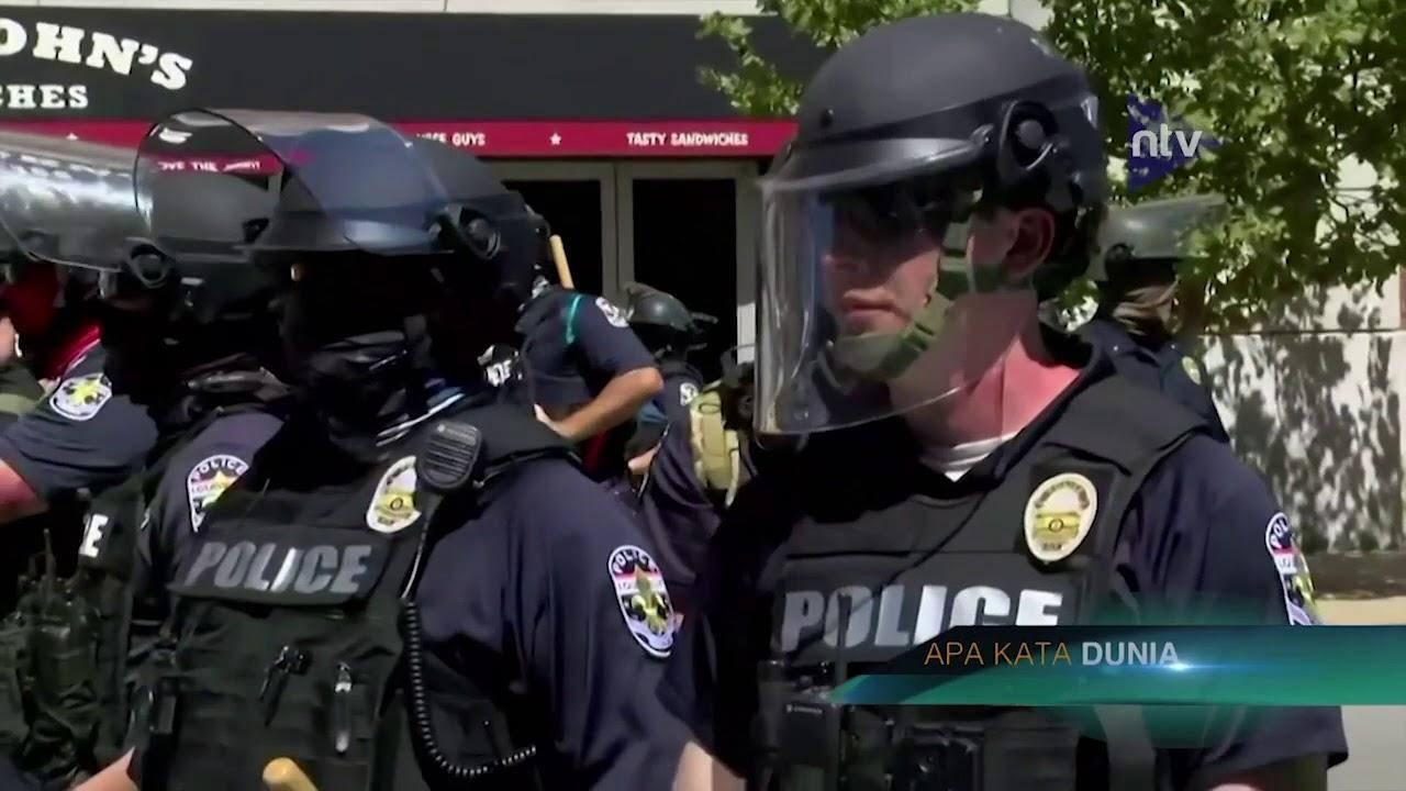 Milisi Bersenjata Pendukung Trump Berhadapan Dengan Kelompok BLM