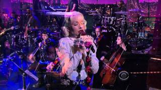 HDTV 1080i Christina Aguilera   You Lost Me   06 09 10 Late Show With David Letterman   VideoMan