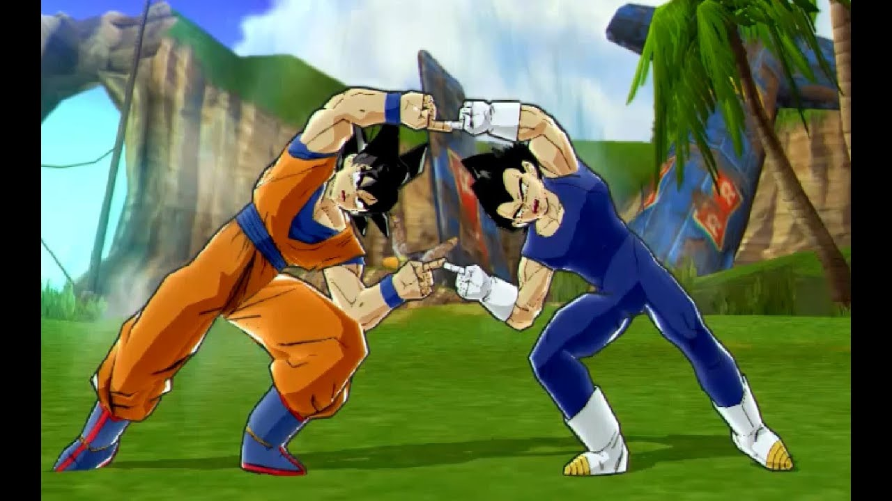 Fusion Gogeta VS Gotenks Dragon Ball Z Budokai 3 HD