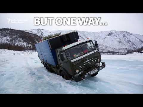 Riding Siberia's Ice Highway