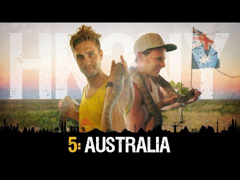 HK2NY Ep 5: Backpacking in Australia - Outback: Darwin to Alice Springs