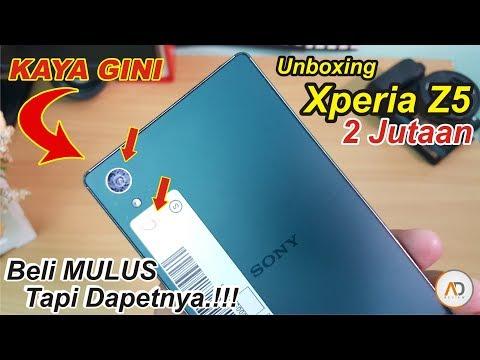 Unboxing XPERIA Z5 - 2.1 Juta. Order MULUS Tapi Dapatnya KAYA GINI.!!