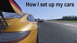 How Viperconcept sets up his cars (+ bonus video)