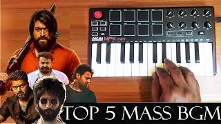 Download song Top 5 Mass Bgm 2019 Rewind By Raj Bharath | Kgf | Saaho | Bigil | Lucifer | Kabir Singh