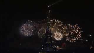 Feu d'artifice complet du 14 Juillet 2013, Tour Eiffel - Trocadero, Paris