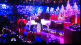 Charice @ NBC Jingle Bell Rock Christmas tree lighting