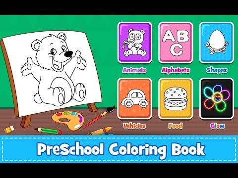 Coloring Games : PreSchool Coloring Book for kids - Apps on ...