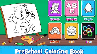 Coloring For Kids | Coloring for kids games - YouTube