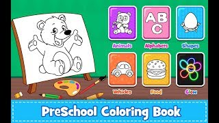 Coloring Games : PreSchool Coloring Book for kids - Games for toddlers on Android