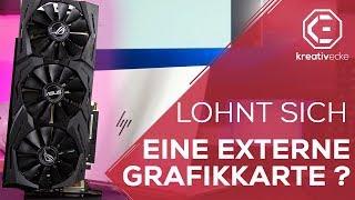 LOHNT SICH EINE EXTERNE GRAFIKKARTE ? | Macbook oder Gaming PC #KreativeFragen 29