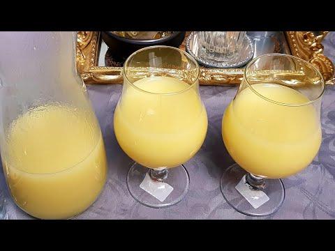 عصير-منعش-تفاح-🍏وليمون🍋مذاق-ولا-اروع-jus-de-pomme-et-citron