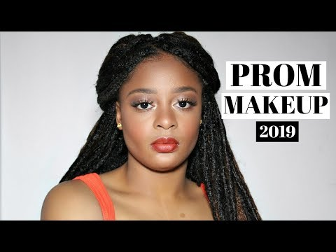 Easy Glam Prom Makeup Tutorial 2019 | CongoleseSisters thumbnail